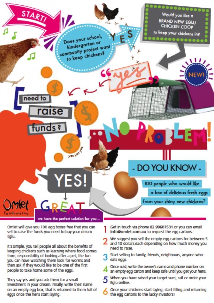 Omlet Egg Carton Fundraising 2016-01-07