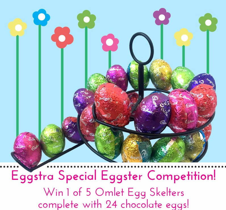 win an egg skelter and 24 chocolate eggs