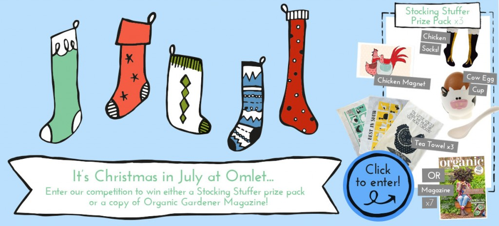 Win Christmas in July goodies with Omlet